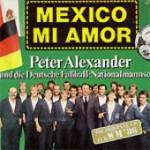 Peter Alexander und die Deutsche Fußball Nationalmannschaft