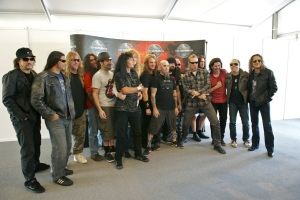 The Big Four: Metallica, Slayer, Megadeth, Anthrax
