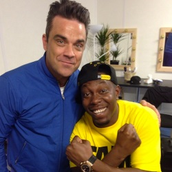 Dizzee Rascal & Robbie Williams